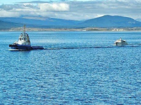 O Mar Sem Fim de volta a América do Sul. Fim dos trabalhos.O resgate do Mar Sem Fim em fotos, Nº1