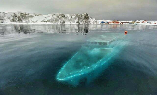 Resgate do Mar Sem Fim em fotos., imagem do mar sem fim naufragado