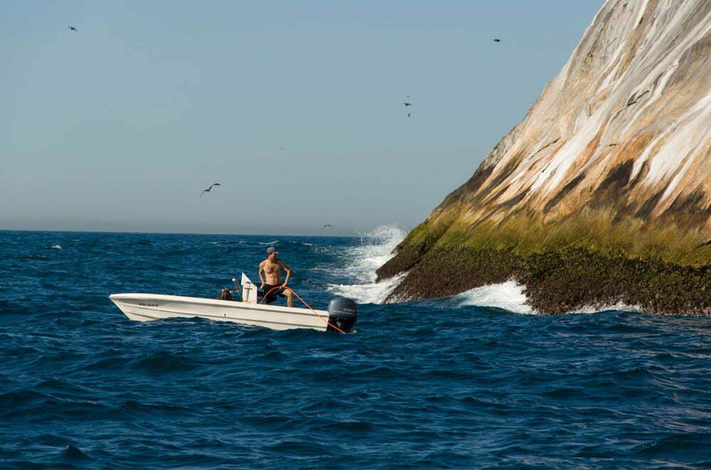 Ilhas Cagarras, imagem de -homem-no-barco