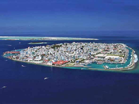 Dez lugares que podem sumir no mar, imagem de Ilhas Maldivas