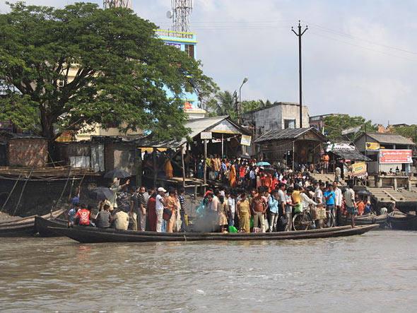 Dez lugares que podem sumir no mar, imagem do delta do Ganges