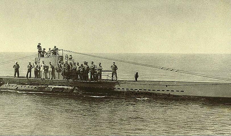 Submarino alemão UB-88, imagem do Submarino alemão UB-88