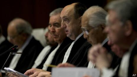 Corte de Haia: fim a disputa entre Chile e Peru, foto da corte de haia