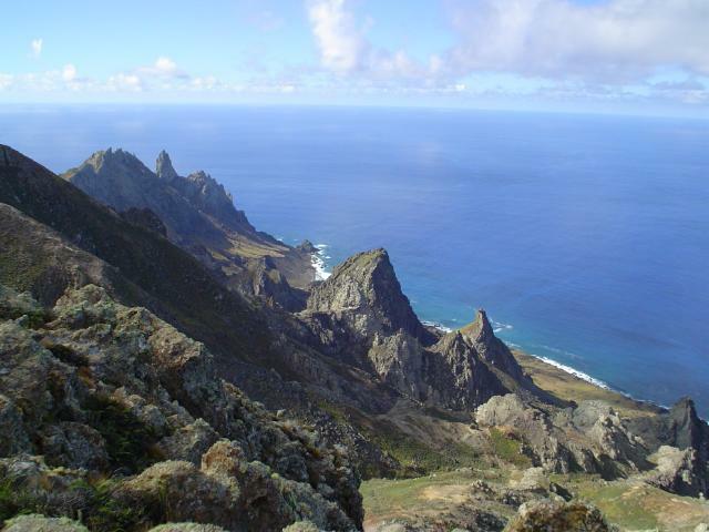 Ilha de Trindade e o Projeto Tamar, imagem da ilha de Trindade_e_Martim_Vaz