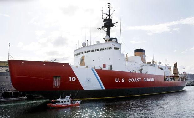 Quebra-gelo, imagem de navio quebra- gelo da US Coast Guard