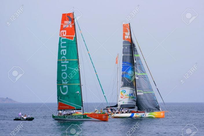 Volvo Ocean Race 2011-2012, imagem da Volvo Ocean Race 2011-2012