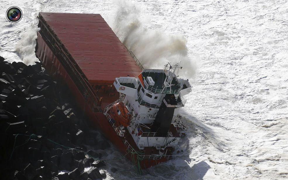 Navio mercante espanhol, imagem de parte do Navio mercante espanhol