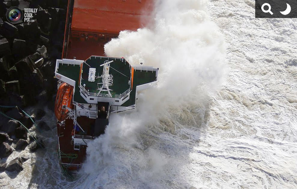 Navio mercante espanhol , imagem de Navio mercante espanhol naufragado
