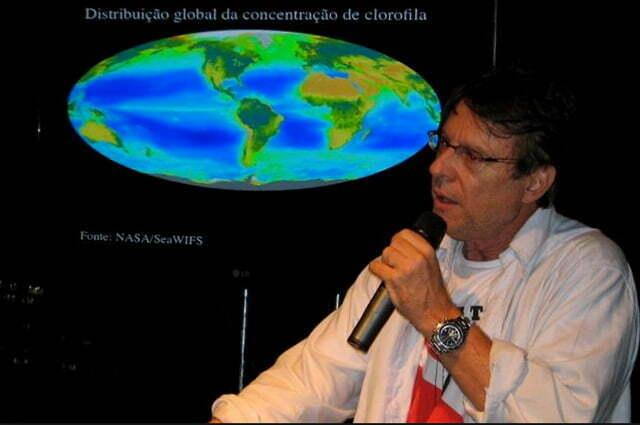 foto de frederico brandini, diretor do Depto de Oceanografia, da USP.