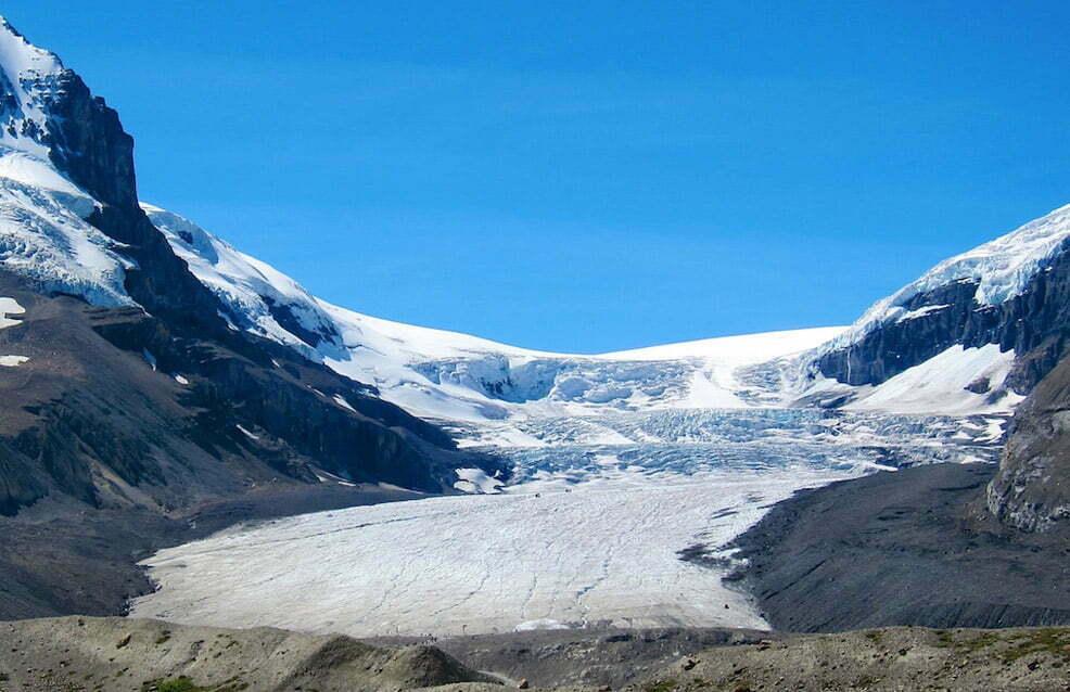 Glaciar Athabasca, Canadá - 10 lugares fantásticos