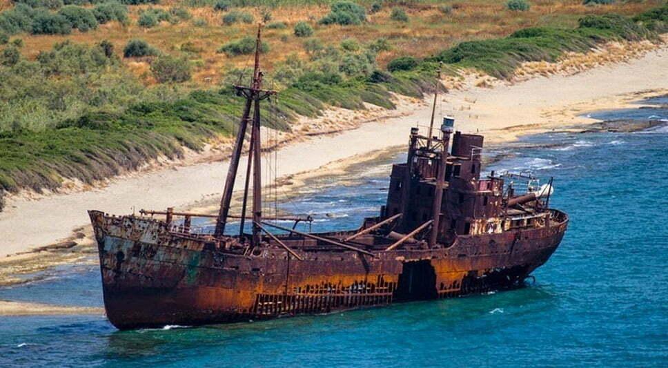 navio naufragado dimitrios