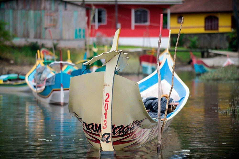 canoa-bordadura-de-popa-APA E ESEC de Guaraqueçaba
