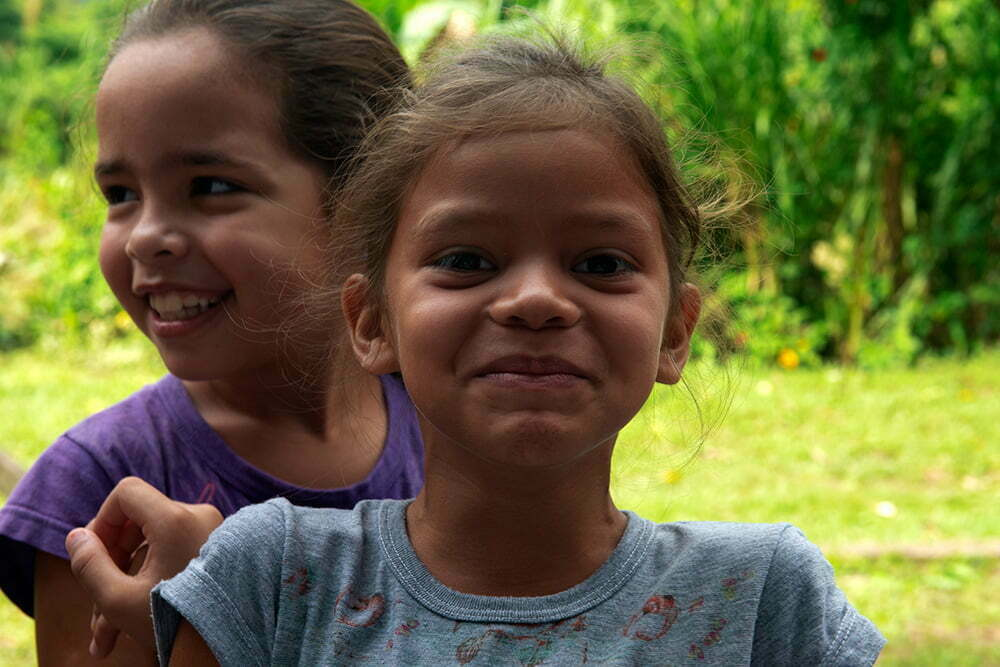 alunas da escola vila verde, parrana,APA E ESEC de Guaraqueçaba
