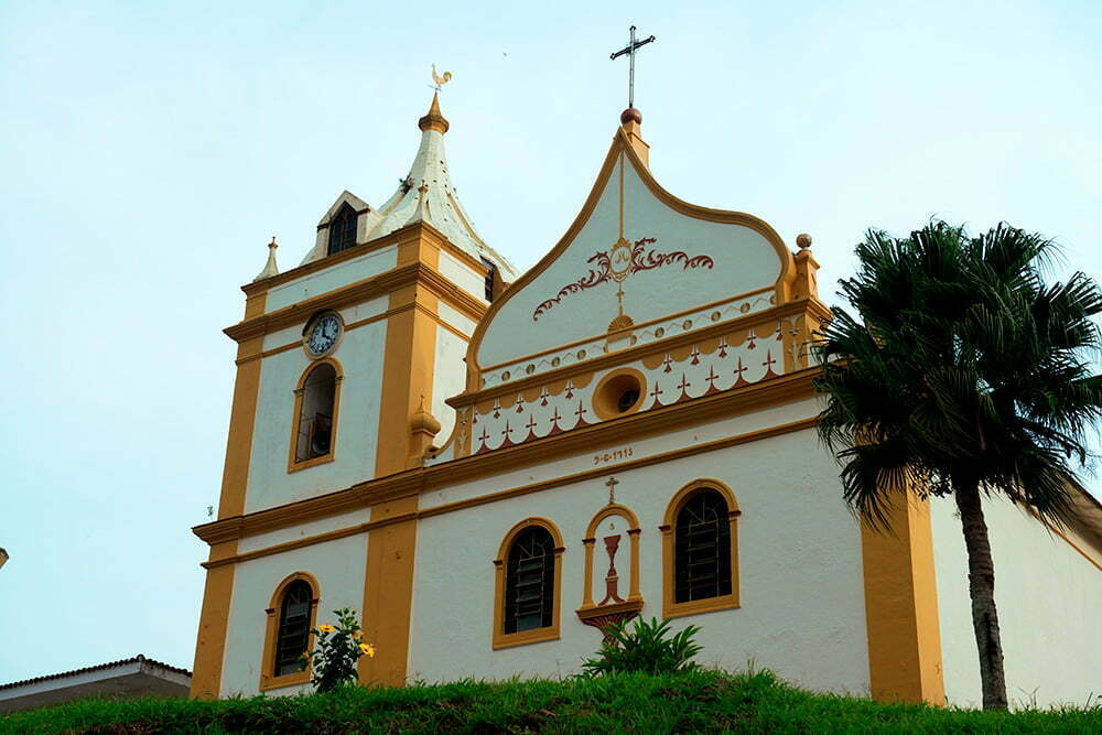 igreja do sec XVIII de Antonina,APA E ESEC de Guaraqueçaba