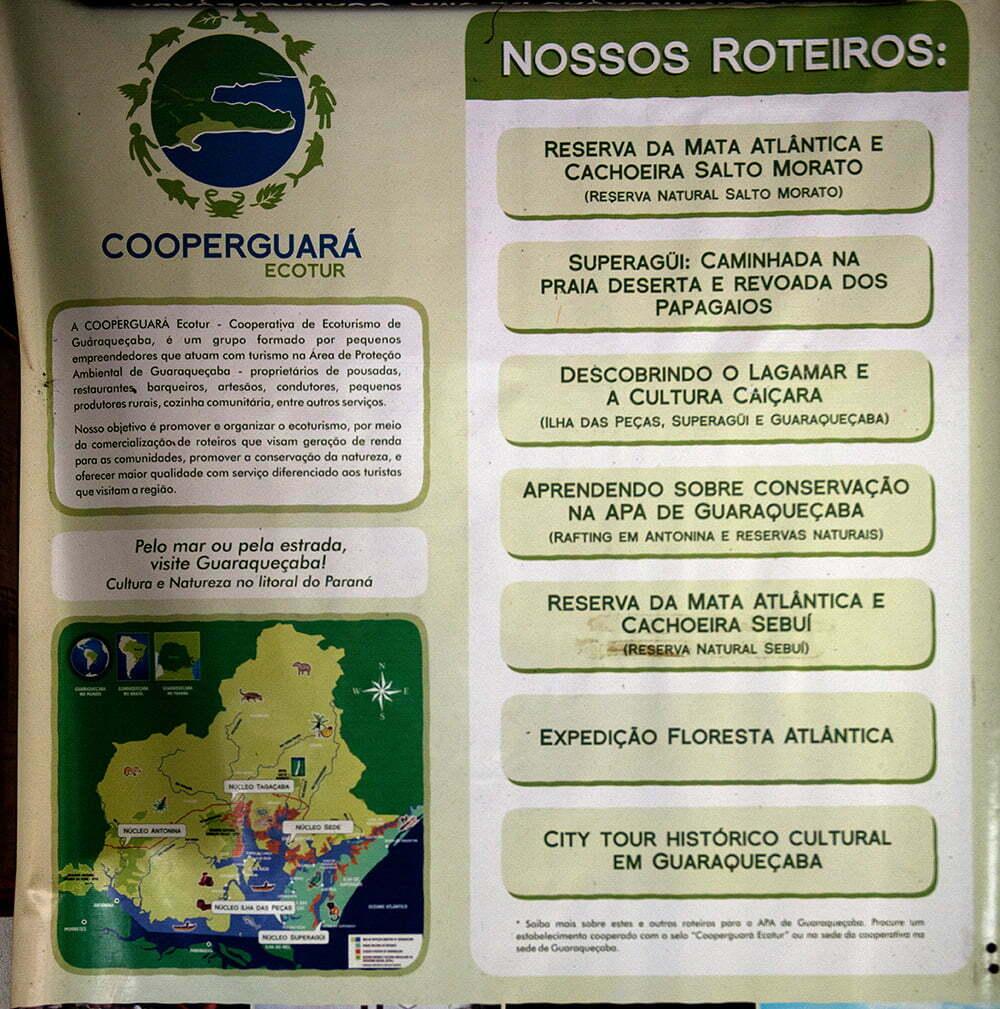 programas-a serem feitos em Guaraqueçaba,APA E ESEC de Guaraqueçaba