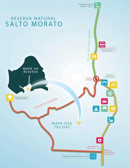 mapa reserva natural salto morato