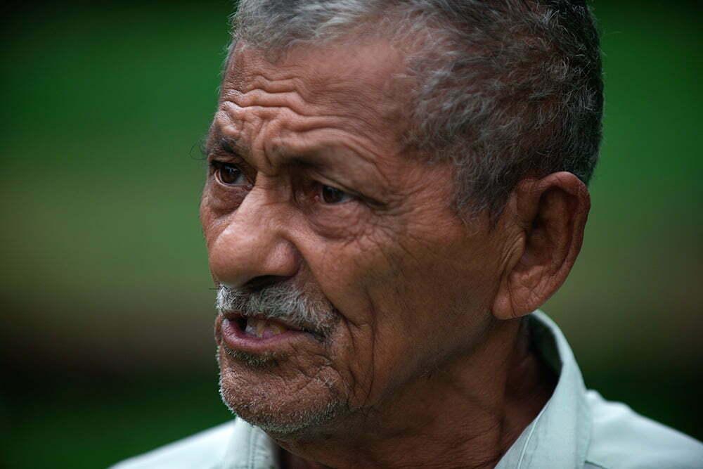 seu-reinaldo-antigo construtor de canos bordadas, APA E ESEC de Guaraqueçaba