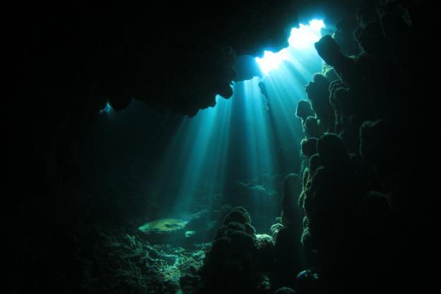 imagem oceano subterrâneo