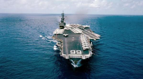 imagem do navio de guerra da classe américa