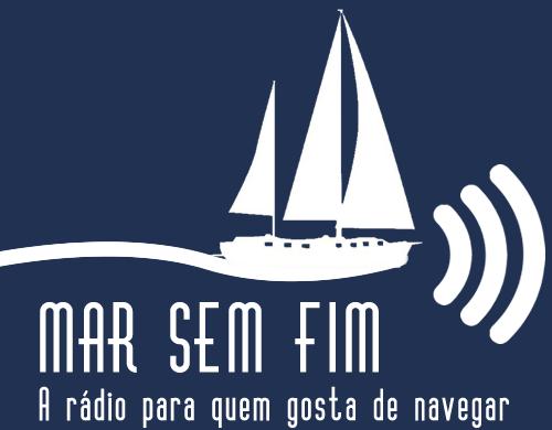 Web Rádio Mar Sem Fim, pra quem gosta de navegar, imagem de logotipo radio mar sem fim