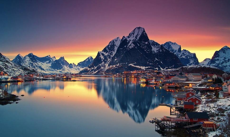 , imagem da Ilhas Lofoten, Noruega