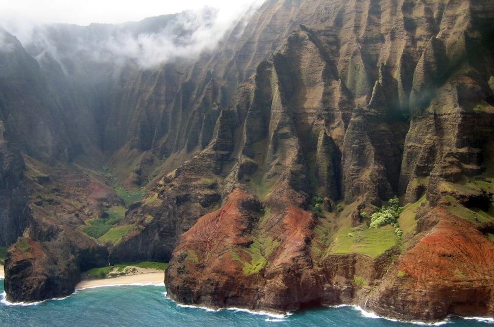 linhas costeiras, imagem linha costeira Havaí