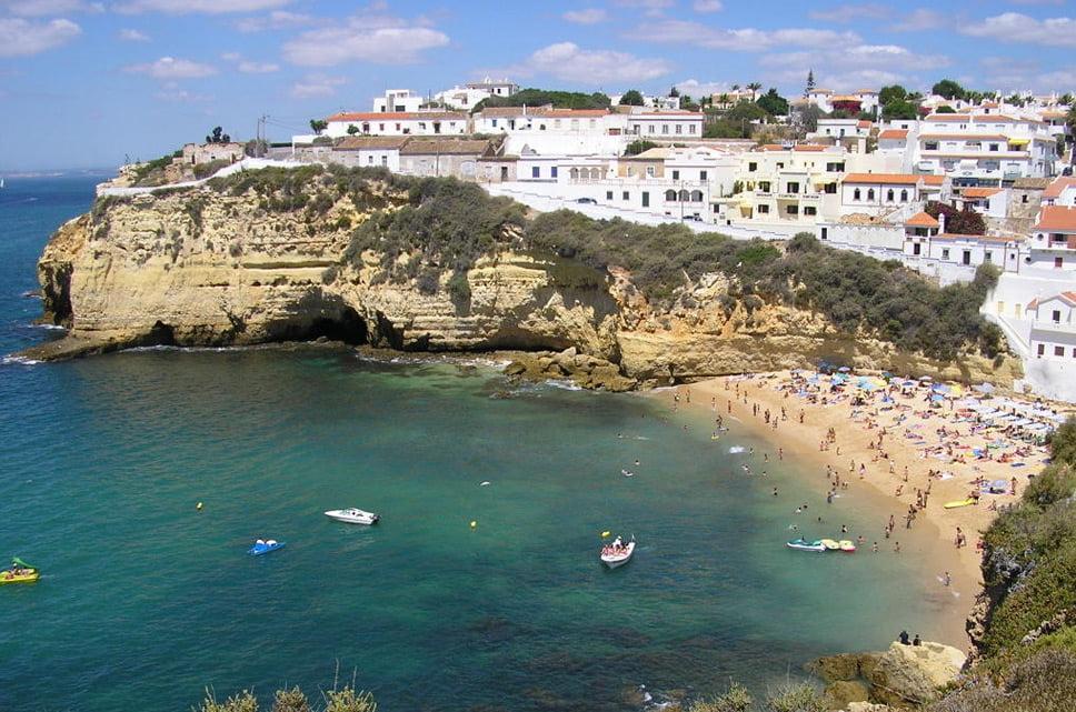 linhas costeiras, imagem de Algarve, Portugal,