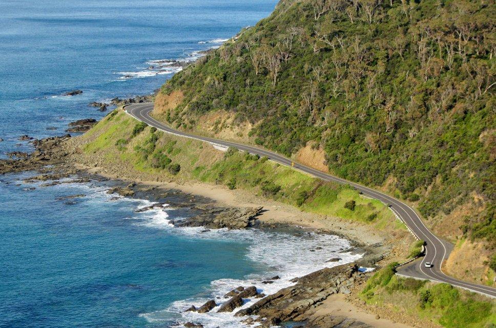 linhas costeiras, imagem linha costeira na Austrália