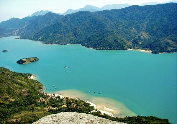 imagem área costeira no Brasil