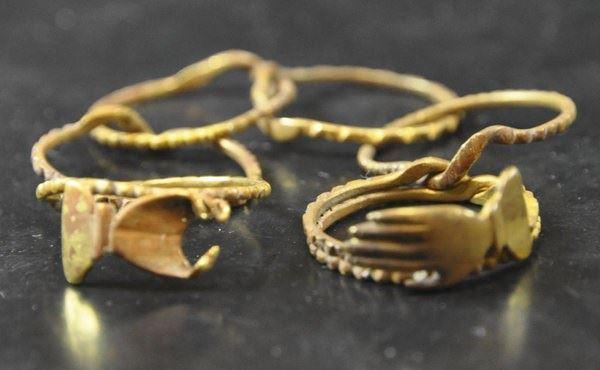 Tesouro encontrado, imagem de anel em Tesouro valioso encontrado em Naufrágio