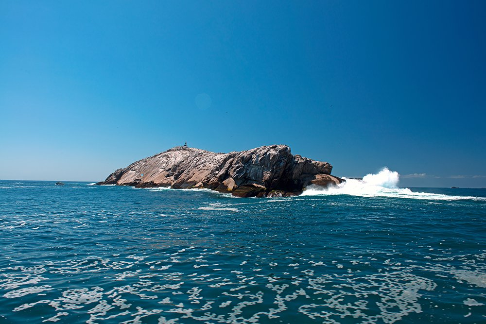 parque estadual marinho laje de santos