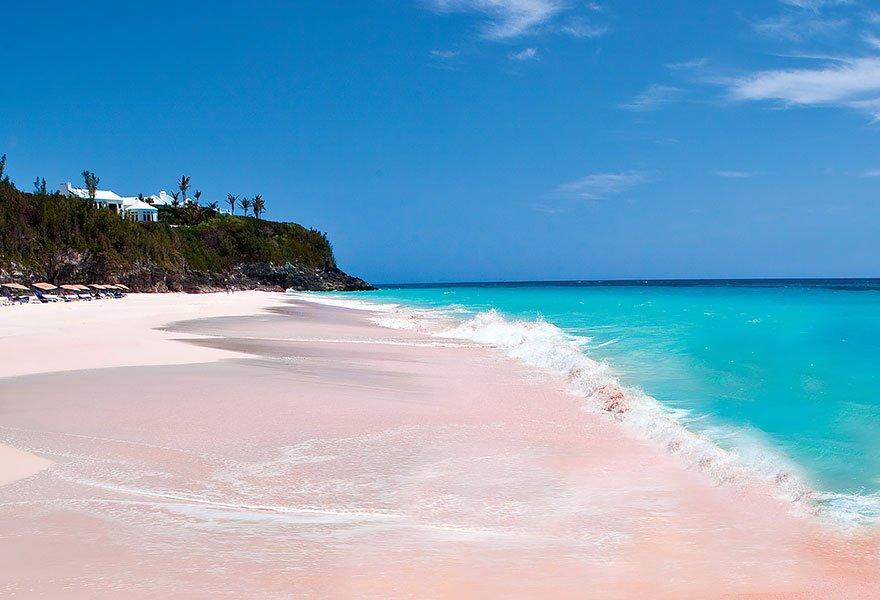 As praias mais diferentes do mundo, imagem de praia nas bahamas
