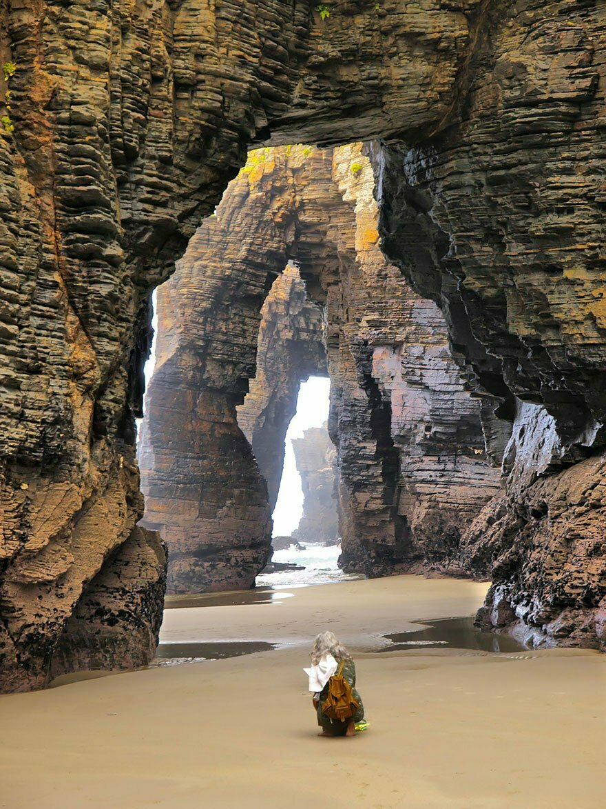 As praias mais diferentes do mundo, imagem de praia na espanha