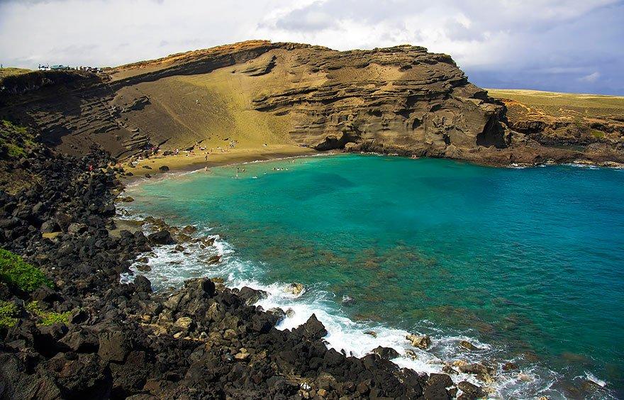As praias mais diferentes do mundo, imagem de praia no havai