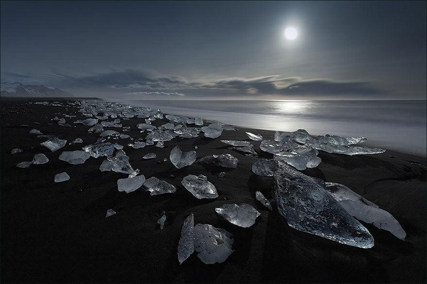 As praias mais diferentes do mundo, imagem de praia na islandia