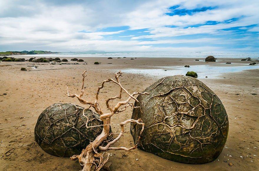 As praias mais diferentes do mundo, imagem de praia em nova zelandia