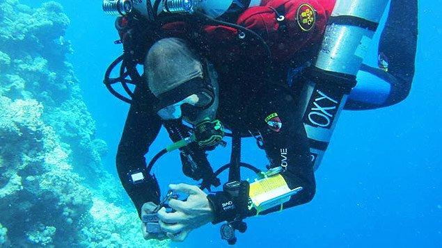 imagem recorde de mergulho