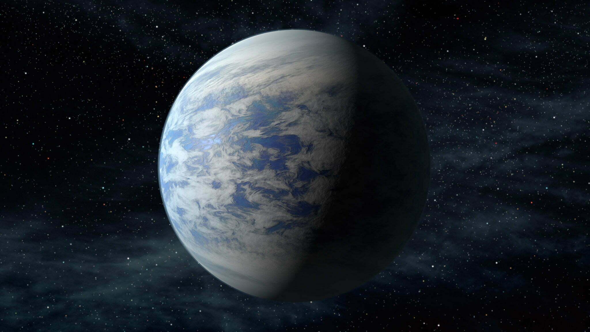 imagem planeta sem oceanos