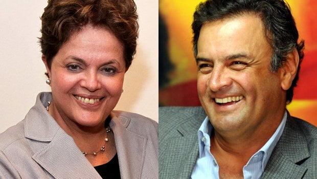 imagem Aécio X Dilma
