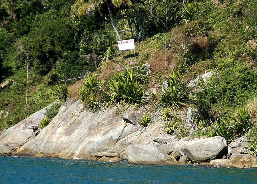 Parques Estaduais Ilhabela e ilha Anchieta, imagem de costao-