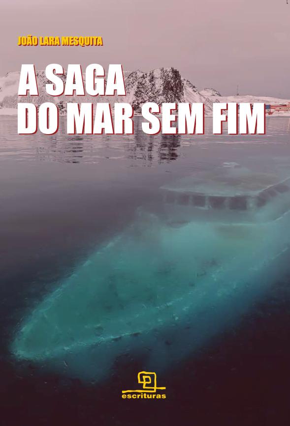 Capa do livro A Saga do Mar Sem Fim