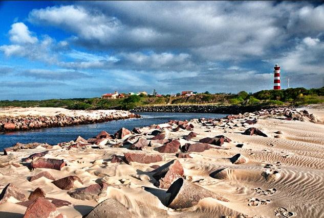 Unidades de Conservação do bioma marinho, imagem do arroio chuí