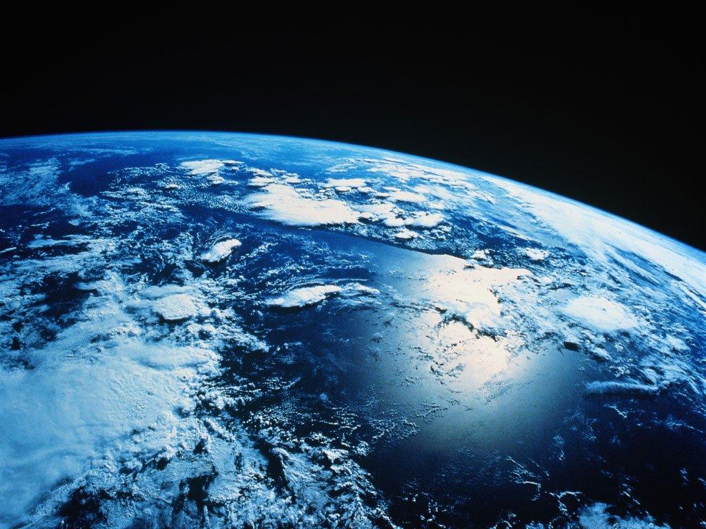 Terra ao vivo do espaço
