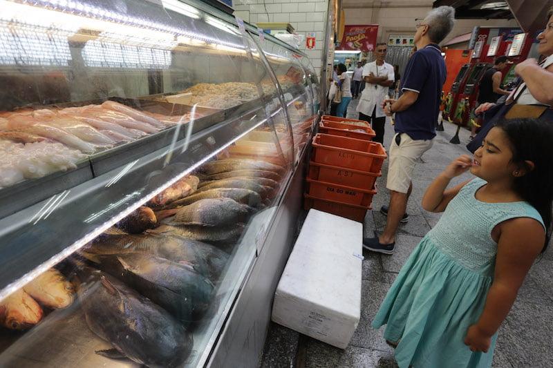 pesca no Brasil, imagem de peixaria