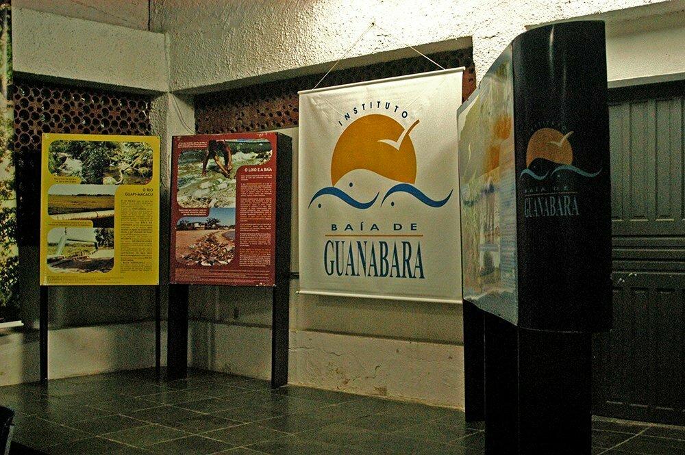 APA Guapimirim / ESEC da Guanabara, imagem do instituto-Baía-de-Guanabara