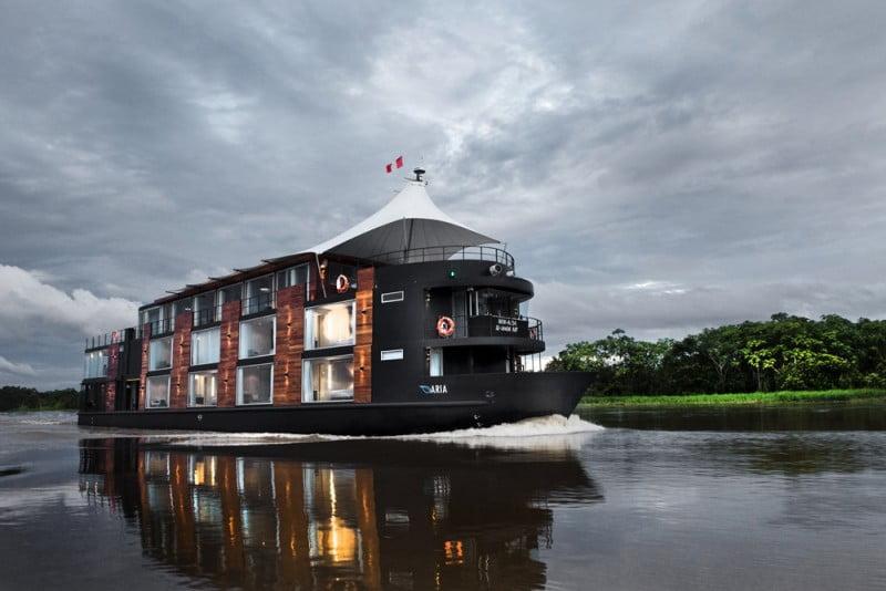 navio hotel de luxo flutuante