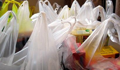 Sacolas plásticas estão proibidas, imagem de sacolas plásticas