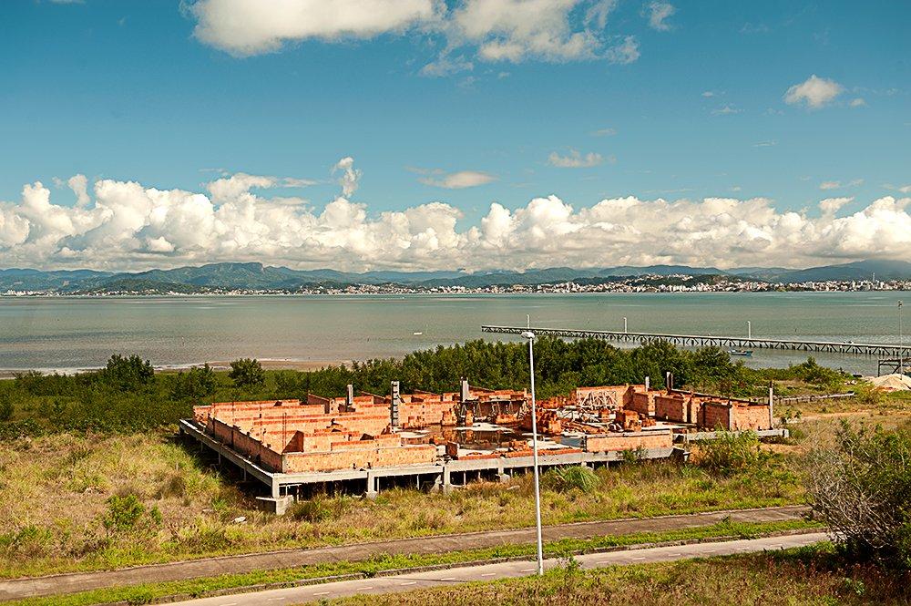 Unidades de Conservação de Florianópolis, imagem da resex de pirajubaé