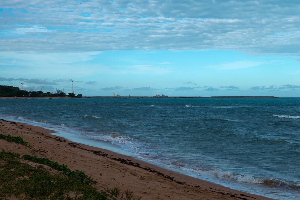 Reserva Biológica dos Comboios e APA Costa das Algas, imagem do-estaleiro-na APA COSTA DAS ALGAS