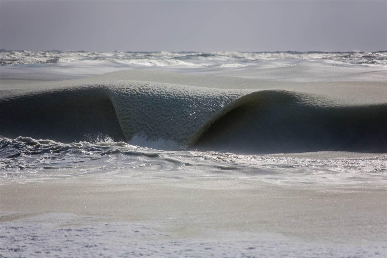 ondas congeladas